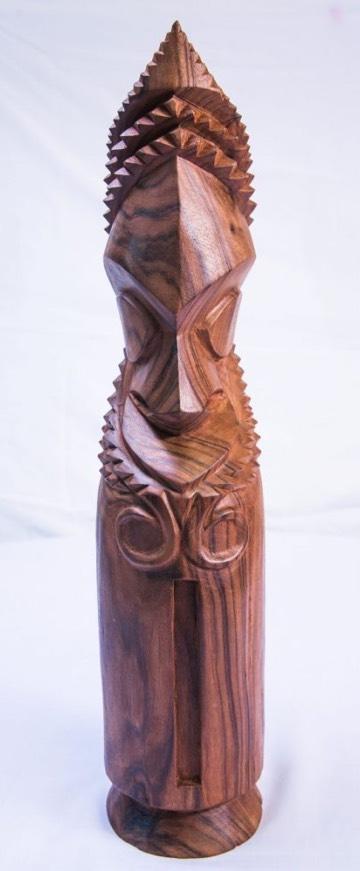 typical Vanuatu hardwood carving